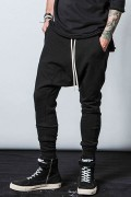 【予約商品】CHORD NUMBER EIGHT CHA1-01K5-PL10 SARROUEL SWEAT PANTS BLACK