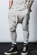 【予約商品】CHORD NUMBER EIGHT CHA1-01K5-PL10 SARROUEL SWEAT PANTS GRAY
