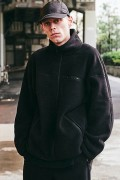 【予約商品】CHORD NUMBER EIGHT CH01-01K5-JK11 OVERSIZED POLARTEC  FLEECE ZIP JACKET