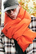 【予約商品】CHORD NUMBER EIGHT CH01-01K5-GD01 DOWN MUFFLER ORANGE&BLACK