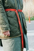 【予約商品】CHORD NUMBER EIGHT CH01-01K5-AC05 JACQUARD TAPE BELT ORANGE&BLACK