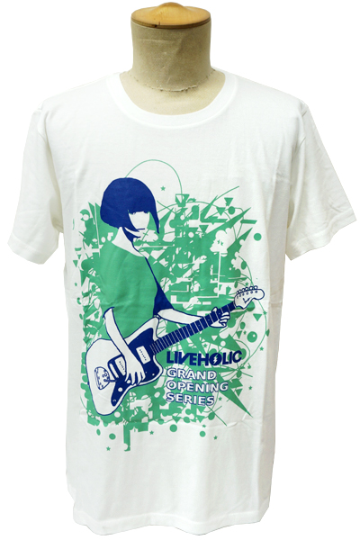 LIVEHOLIC GRAND OPENING SERIES Limited T-Shirt WHT