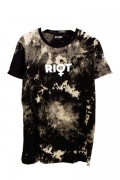 DISTURBIA CLOTHING RIOT TIE DYE TEE