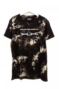 DISTURBIA CLOTHING DROP OUT TIE DYE TEE