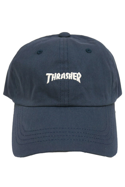 THRASHER 16TH-C25 WASH CAP NAVY