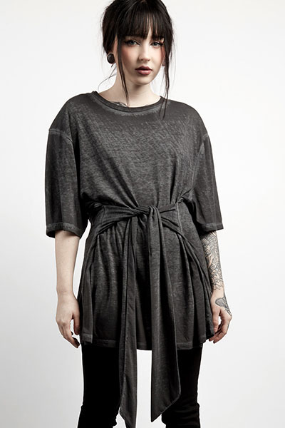 DISTURBIA CLOTHING Tied Up T-Shirt