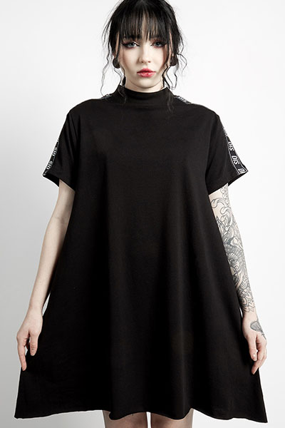 DISTURBIA CLOTHING Dis Tape Dress