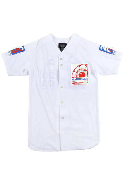 MISHKA (ミシカ) KEEP WATCH BASEBALL JERSEY