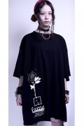 "KAVANE Clothing ""Fame""OVERSIZE CUTSEW(BLK)"