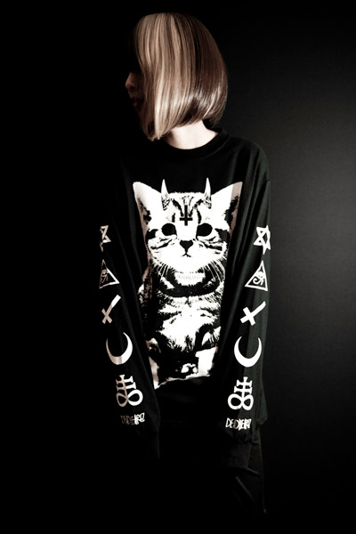 DEADHEARTZ Little Devil L/S Tee BLACK