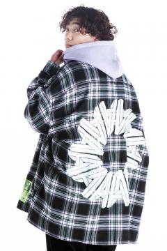 HEDWiNG Big Silhouette Plaid Shirt