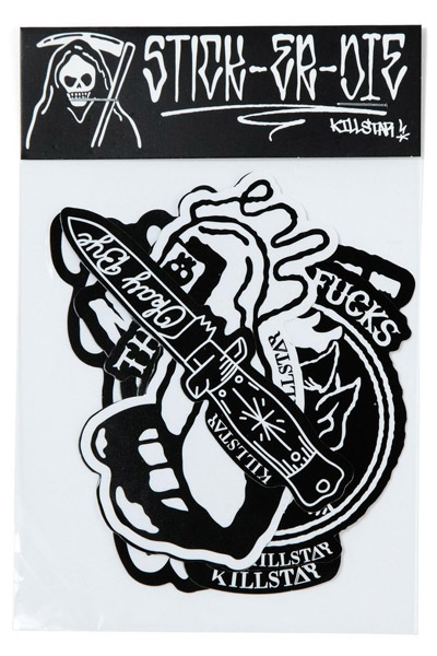 KILL STAR CLOTHING (キルスター・クロージング) Stick It! Pack I [B]