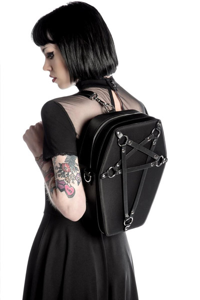 KILL STAR CLOTHING (キルスター・クロージング) Hexellent Coffin Backpack [B]