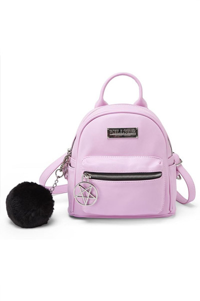 KILL STAR CLOTHING(キルスター・クロージング) Darcy Mini Backpack [PINK]