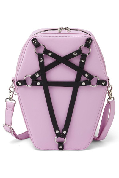 KILL STAR CLOTHING(キルスター・クロージング) Hexellent Coffin Backpack [PINK]