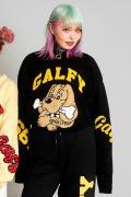 【予約商品】GALFY わんわん大学セーター BLACK