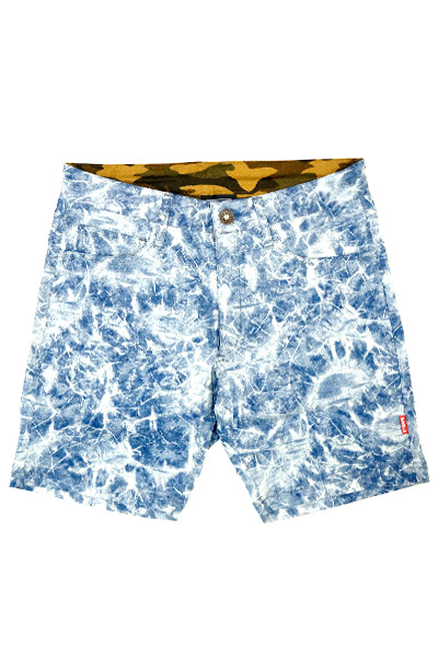 SQUARE VARIOUS SHORT PANTS INDIGO