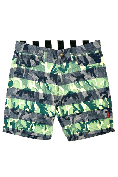 SQUARE VARIOUS SHORT PANTS CAMO