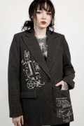 DISTURBIA CLOTHING Rituals Blazer