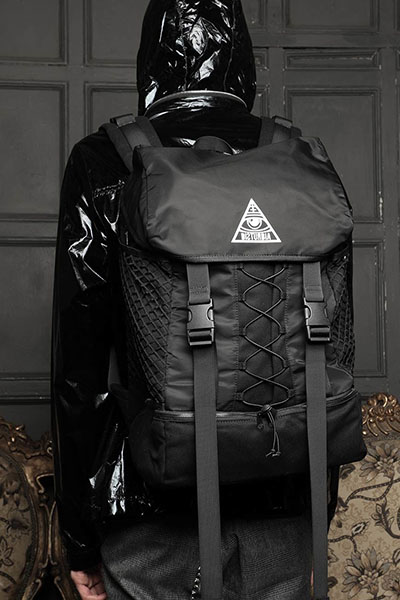 DISTURBIA CLOTHING Nightwatch Backpack