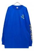 SANTA CRUZ Screaming Hand L/S T-Shirt ROYAL BLUE