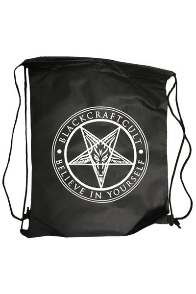 BLACK CRAFT Believe In Yourself Drawstring Backpack