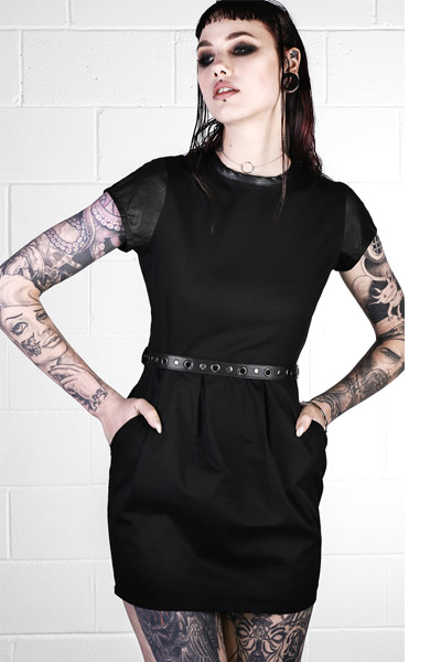 DISTURBIA CLOTHING REPLICANT DRESS