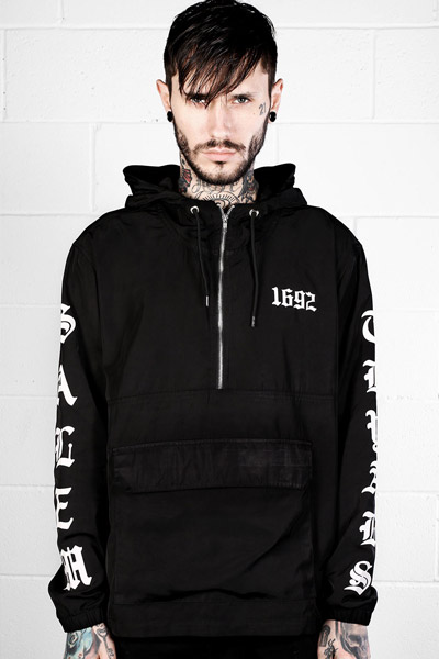 DISTURBIA CLOTHING SALEM CAGOULE