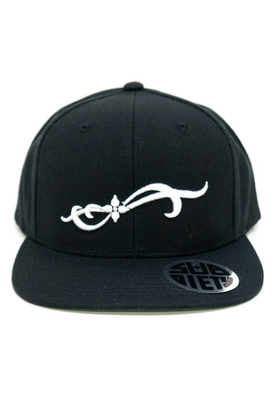 Subciety (サブサエティ) SNAP BACK CAP-Basjoe- BLACK