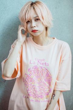 【予約商品】GoneR -La Neta- GRL04CT001 Mexican Flag T-Shirts Apricot