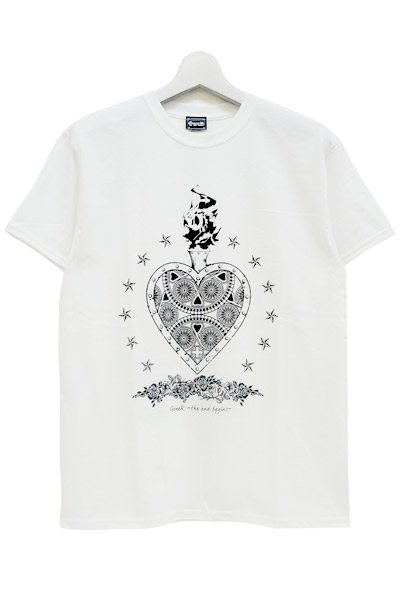 GoneR Mexican Heart T-Shirts White