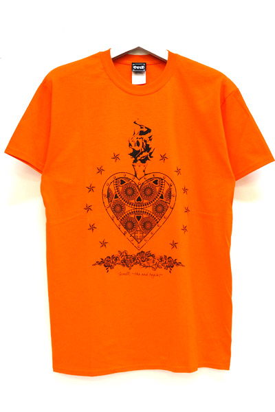 GoneR Mexican Heart T-Shirts Orange