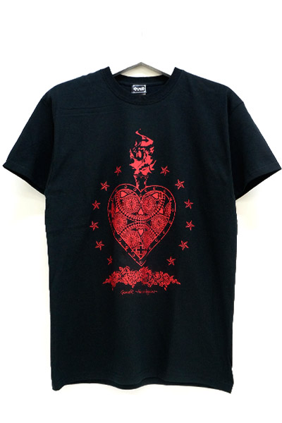 GoneR Mexican Heart T-Shirts Black/Red
