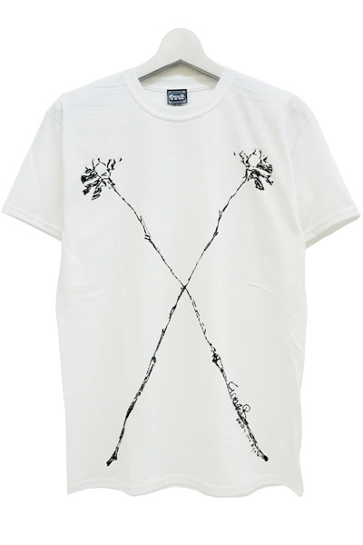 GoneR Rose『X』 T-Shirts White