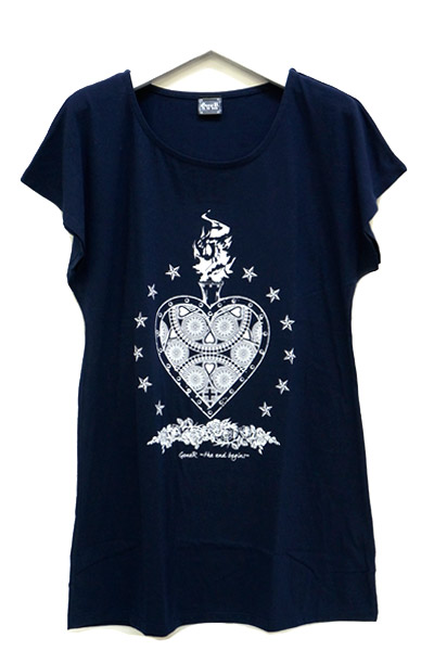 GoneR Mexican Heart T One-Piece Navy