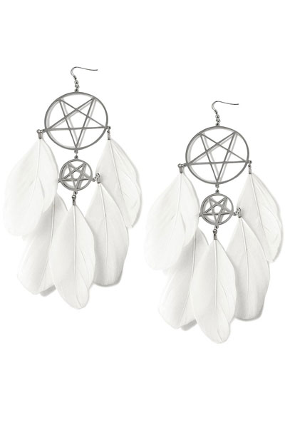 KILL STAR CLOTHING DREAMCATCHER EARRINGS[S]