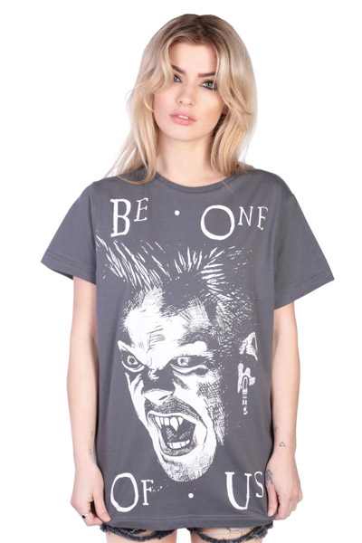 DISTURBIA CLOTHING (ディスタービア・クロージング) BE ONE OF US OVERSIZED TEE