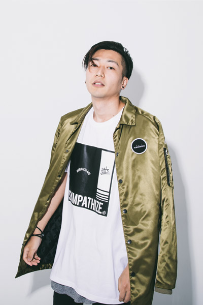 LILWHITE. (リルホワイト) -F/B-LONG COACH JKT OLIVE
