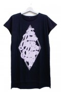 RIP DESIGN WORXX ダイヤモンドドルマンTシャツ BLACK