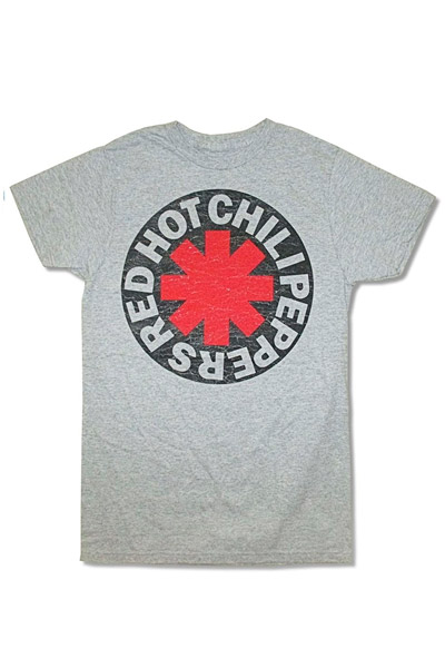 RED HOT CHILI PEPPERS -Asterisk Circle-Heather Grey