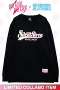 "【ゲキクロ限定】SILENT SIREN ""NO GIRL NO CRY"" Sweat Designed by RIPDW ORANGE"