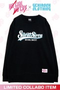 "【ゲキクロ限定】SILENT SIREN ""NO GIRL NO CRY"" Sweat Designed by RIPDW BLUE"