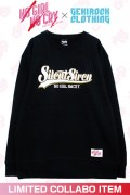"【ゲキクロ限定】SILENT SIREN ""NO GIRL NO CRY"" Sweat Designed by RIPDW YELLOW"