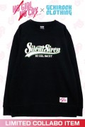 "【ゲキクロ限定】SILENT SIREN ""NO GIRL NO CRY"" Sweat Designed by RIPDW GREEN"