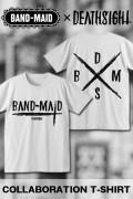 BAND-MAID×deathsight コラボデザインTEE WHITE