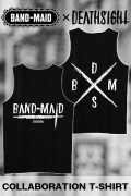 BAND-MAID×deathsight コラボデザインTank Top BLACK