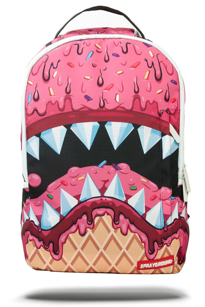 SPRAY GROUND ICE CREAM SHARK DLX