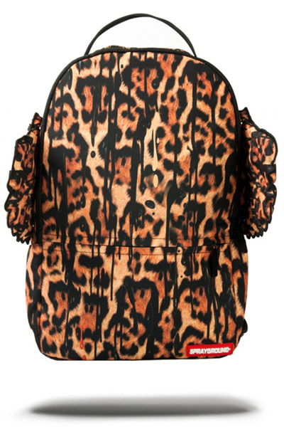 SPRAY GROUND LEOPARD DRIP WINGS