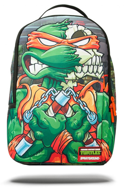 SPRAY GROUND TMNT MIKEY SKULL