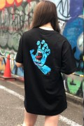 SANTA CRUZ SCREAMING HAND S/S REGULAR T-SHIRT BLACK